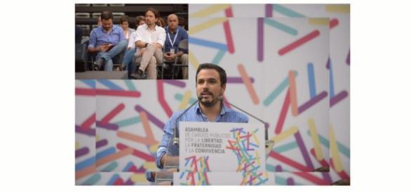 Garzon y Pablo en Zaragoza dando lo todo en esta asamblea de la fraternidad