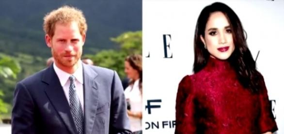 Prince Harry and Meghan Markle were spotted at the 2017 Invictus Games in Toronto. [Image Credit: Entertainment Tonight/YouTube]