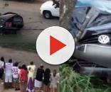 Cena de terror após tiroteio em Itabuna, na Bahia
