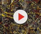"""La obra más conocida de Jackson Pollock: """"N° 5""""."""