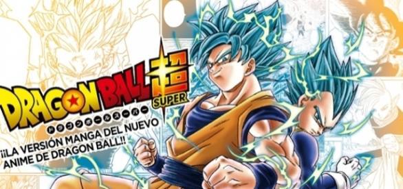 Ilustración a color del manga de Dragon Ball Super