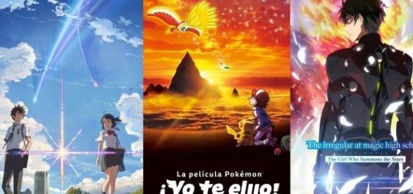 Películas de anime a estrenarse en Latinoamérica