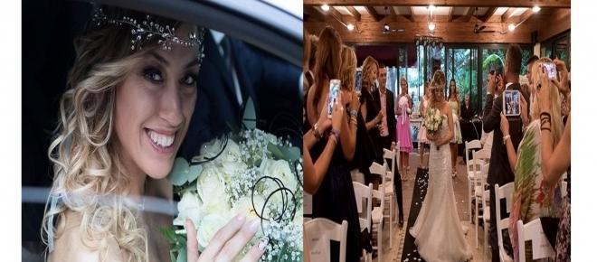 Sem noivo, moça se casa com ela mesma em cerimônia incrível