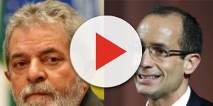 O ex-presidente Lula e Marcelo Odebrecht
