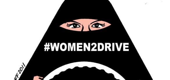 Saudi women finally gain the right to drive. Image by Carlos Latuff via Wikipedia Commons.