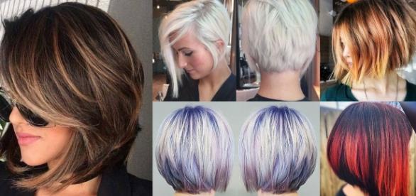 Tagli capelli corti e medi 2018