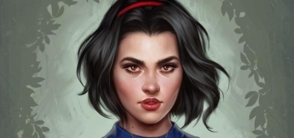 Biancaneve - Immagine digitale di Fernanda Suarez