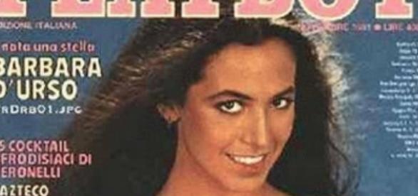 Barbara D'Urso ha posato per Playboy
