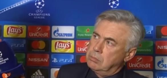 Carlo Ancelotti has been sacked. - Image - TIME 4 SPORT  YouTube