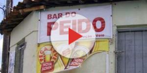 Bares brasileiros com nomes bizarros.