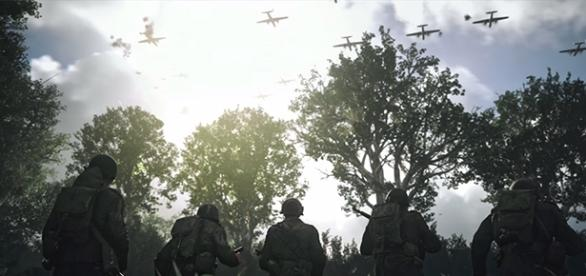 """Activision's """"Call of Duty: World War II"""" arrives to PlayStation 4, Xbox One, and PC on November 3. (YouTube/Activision)"""