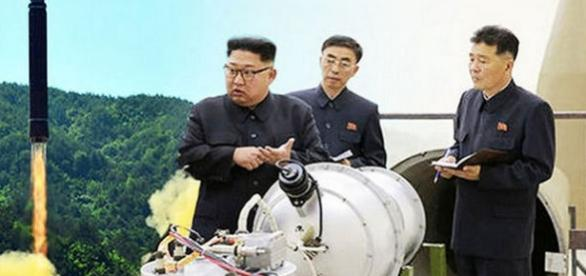 Cutremur puternic după ultimul test nuclear nord-coreean. Kim Jong-un are bomba cu hidrogen - Foto: Sunday Express (Getty/Reuters)