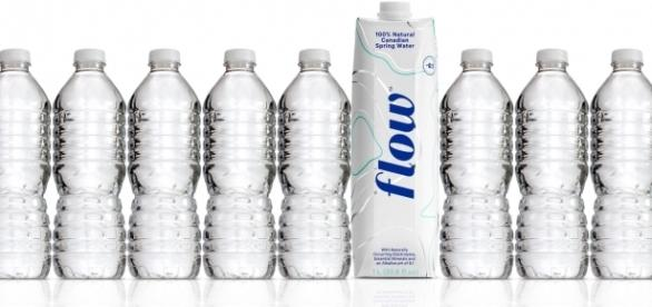 Flow Water is very healthy and comes in recyclable packaging. (Image Caption: Photo via Nicholas Reichenbach, used with permission)