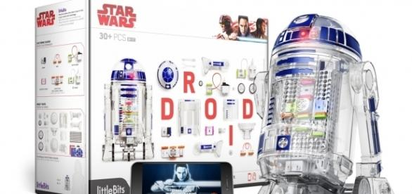 littleBits and Star Wars are collaborating on STEM-based playthings. / Photo via Krystal Persaud and littleBits, used with permission.