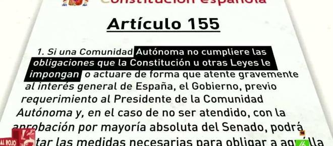 ¿Qué es el artículo 155 del que tanto se habla?
