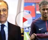 Florentino Pérez y Neymar ya habrían acordado su llegada en el 2019