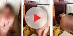 Marido pega mulher na cama com seu chefe e faz vídeo perturbador