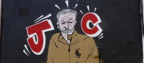 Jeremy Corbyn shown as the champion the people in mural - Picqero - Flckr