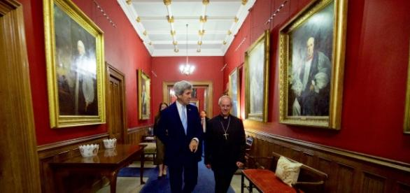 Arch-bishop - Canterbury - Image U.S. Department of State Follow Secretary Kerry Meets With Archbishop of Canterbury