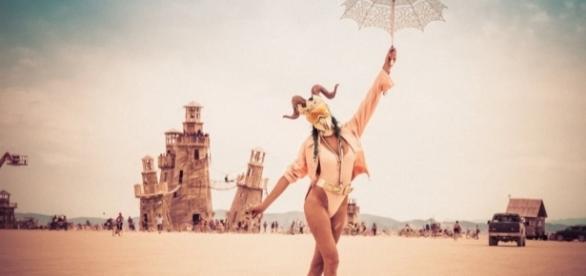 Burning Man un festival fuera de lo ordinario