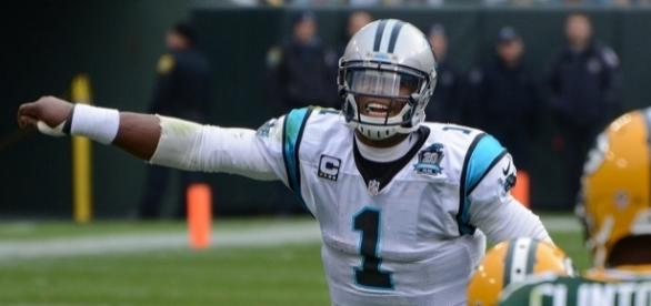 Cam Newton and the Panthers will square off with the San Francisco 49ers on Sept. 10 -- Mike Morbeck via WikiCommons