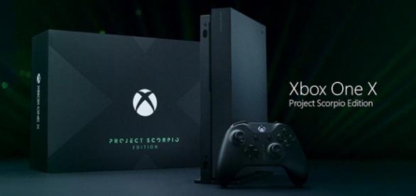 Microsoft Xbox One X Project Scorpio