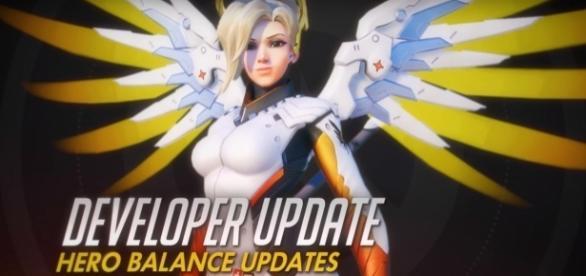 Overwatch Mercy Blizzard (PlayOverwatch/YouTube) https://www.youtube.com/watch?v=vDlCqJ1tD3M