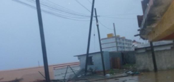Primeras imágenes sobre el contacto del huracán Irma en Cuba
