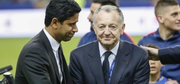 """Aulas : """"J'ai demandé à Al-Khelaïfi à ce que Fekir puisse jouer ... - eurosport.fr"""
