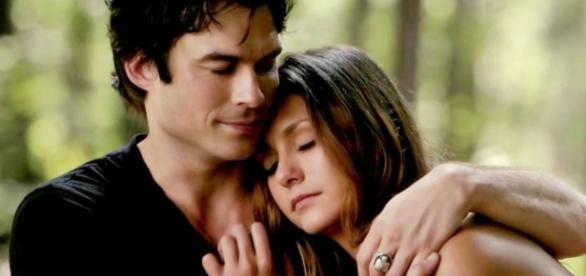 The Vampire Diares, Elena e Damon
