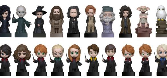Wizzis: figurine 3D di Harry Potter