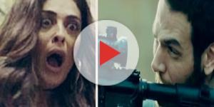 Bibi fica chocada com Rubinho na novela da Globo