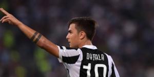 Paulo Dybala, tripletta contro il Sassuolo