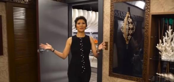 'Celebrity Big Brother' announced by host Jule Chen as winterCBS show - Image - YouTube / TV Guide