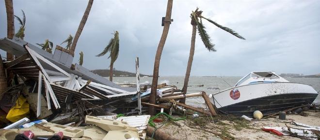 Hurricane Irma ravages Haiti and Bahamas as Florida evacuates