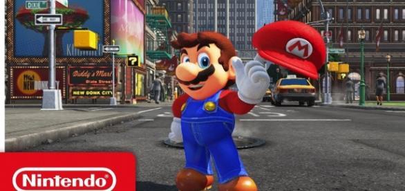 Nintendo just announced Mario's brand new identity. [Image via YouTube/Nintendo]