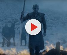 The Night King attacks Viserion / Image via Axhol3Rose, YouTube screencap