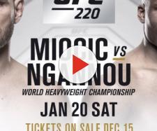 UFC 220 boxe: Miocic vs. Ngannou