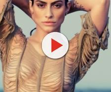 'Até eu virava lésbica': Cleo Pires fica de 4 e detalhe chama atenção