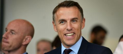 Phil Neville is the leading candidate to be the next England Women's manager. (Image Credit- Manchester Evening News)