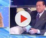 Silvio Berlusconi shock in diretta