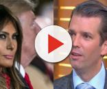 Melania Trump, Donald Trump Jr., via Twitter