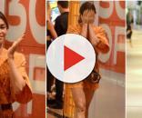 Muitos fãs que até hoje torcem pela reconciliação do ex-casal, vibraram com a notícia de que eles estavam no mesmo shopping