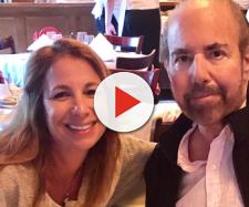 Jill Zarin poses with her late husband, Bobby Zarin. [Photo via Instagram]