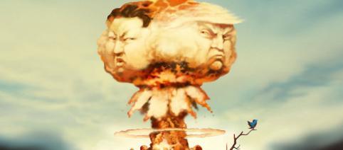 Alarma falsă din Hawaii subliniază riscul tot mai mare de război nuclear dintre SUA și Coreea de Nord - Foto: www.economist.com (© David Parkins)