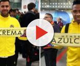 Los nuevo refuerzos del Club América, Jérémy Ménez y Andrés Ibargüen.