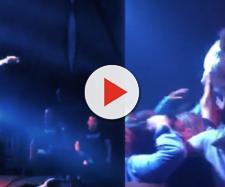 Confusão durante show de Léo Santana no Espírito Santo (Fotos: Captura de vídeo)