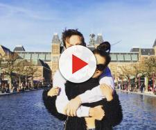 Robert Valletta and Scheana Marie in Amsterdam. [Photo via Instagram]