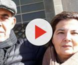 Giuseppe Piredda e Ronerta Mamusa, genitori di Manuel, morto nel rogo di Bacu Abis (Carbonia) nel 2011