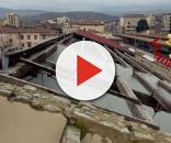 Il vento scoperchia il tetto, disagi alla stazione | Attualità Arezzo - toscanamedianews.it